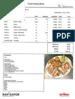 sandwich food cost