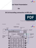 DC & Grounding connection at bts site