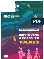 Improving Access to Taxis