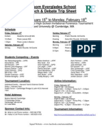 Trip Sheet - Harvard - Feb 15-18