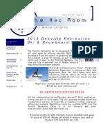 Fall/Winter 2012-2013 Rec Room
