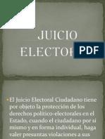 Juicio Electoral
