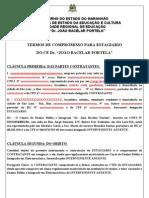 TERMO DE COMPROMISSO  DE ESTÁGIO