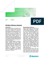 Newsletter IE2 Motor Efficiency Standard
