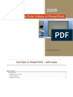YouTube Videos in PowerPoint Instructions
