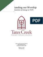 Understanding Our Worship