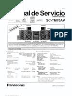 Panasonic Sa Sc-tm70av Sch