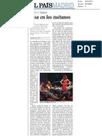 Risa en los tuétanos @ El Pais Madrid.