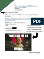 DUKE Frat Emails