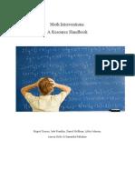 math20intervention20handbook