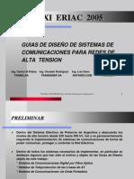 Guias de Diseño para Sistemas de Comunicaciones de Lineas Alta Tension