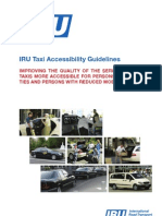 IRU Taxi Accessibility Guidelines