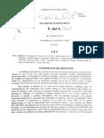 PROYECTO DEL SENADO 363 AEE