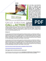 Child Survival Call to Action