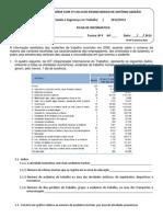 007 - aula 5 - Ficha de trabalho - estatística