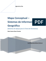 Mapa Conceptual - SIG