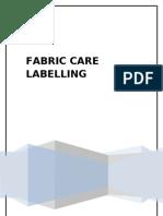 Fabric Care Lbelling