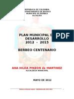 Plan Desarollo Berbeo 2008-2011