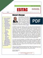 ESITAC Newsletter Dec 2012