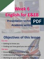 lesson 1 E&EB