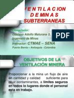 VENTILACIÓN DE MINAS - SENA