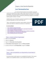 Formularios Martin y Joseau