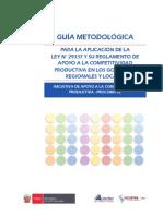 Guia Metodologica Procompite