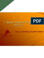 i search presentation 2012-13