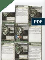 Circle of Oboros Mk II 2010 Cards