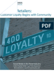 Attention Retailers: Customer Loyalty Begins with Community