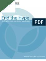 End the Social Marketing Hype!