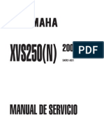 SERVICIO XVS250_2001 ESPAÑOL