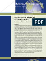 Pacific Basic Refining Capacity
