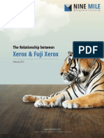 The Relationship between Xerox and Fuji Xerox