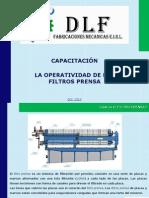 Operatividad Filtros Prensa