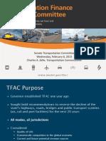 TFAC presentation - February 6, 2013