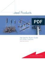 Steel Products Site Specific Buyers Guide