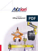 Below Hook Devices - Lift Beams & Spreader Bars Axzion