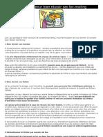 10 conseils pour bien réussir ses fax