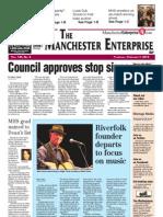 Manchester Enterprise Front Page Feb. 7, 2013