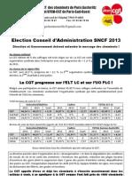 tract résultats elections ca 2013 elt lc + bureau de vote de PAZ