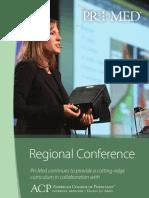 Pri-Med Regional Conference Brochure