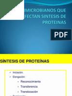 Antimicrobianos Que Afectan Sintesis de Proteinas