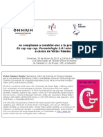 Presentació En cap cap cap a Sabadell. Paremiologia 2.0 i micromecenatge