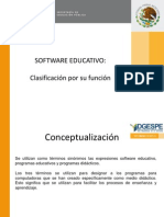 Unidad I Software Educativo