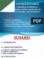 020 - Postos e Graduações
