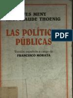 Las Politicas Publicas