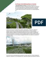 Propuesta Concurso Parque Verde Metropolitano La Carlota