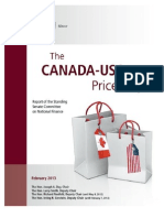 The Canada-USA price gap