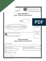 Folha Discursiva ESAF